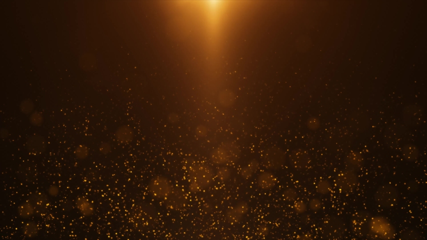 Gold Light Sparkles Background 4K | Shutterstock HD Video #1030571858