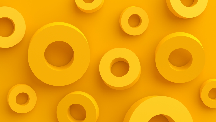 Abstract 3d render, background with moving shapes, modern animation, motion design, 4k seamless looped video | Shutterstock HD Video #1030583270