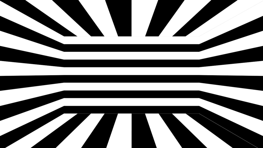 Black and white stripes. Computer generated abstract background, 3D rendering backdrop | Shutterstock HD Video #1030646024