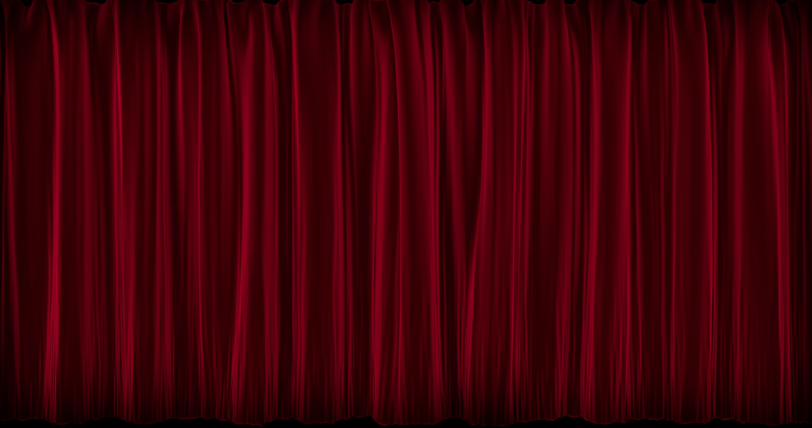 Curtain Open-Close Animation 4k with Alpha | Shutterstock HD Video #1030711895