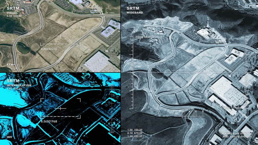 Aerial surveillance drone/UAV flyover of an industrial plant. Reversible, seamless loop. Available in DCI 2K/4K, by request.