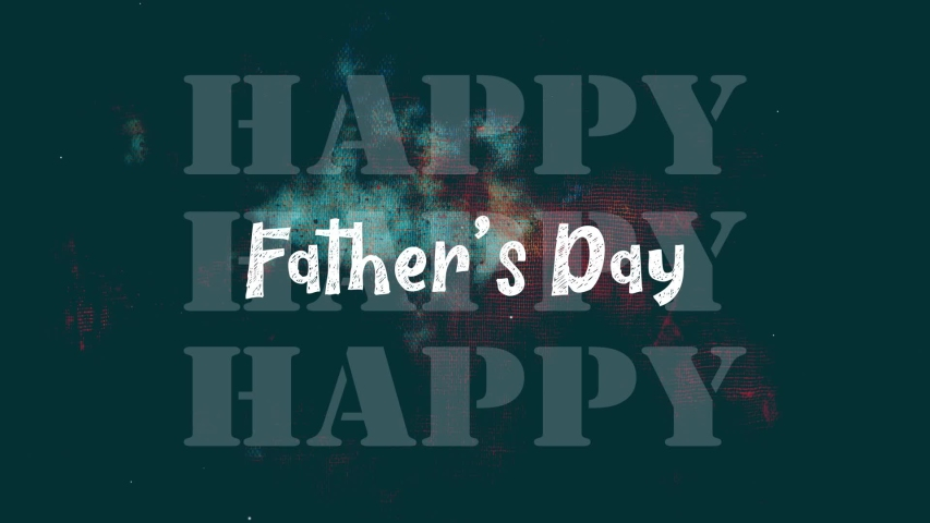 Happy Father's Day Motion Graphics Video   Shutterstock HD Video #1031042945