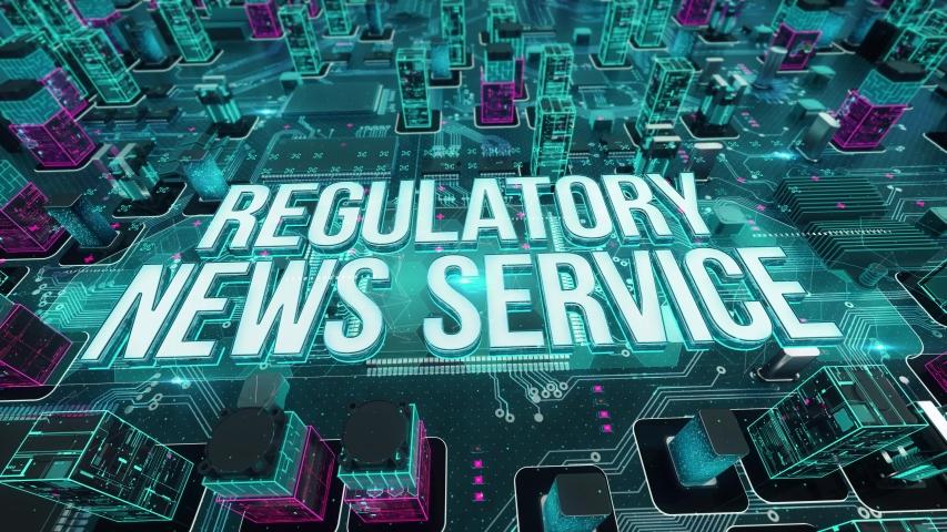 Regulatory News Service digital technology concept | Shutterstock HD Video #1031059409