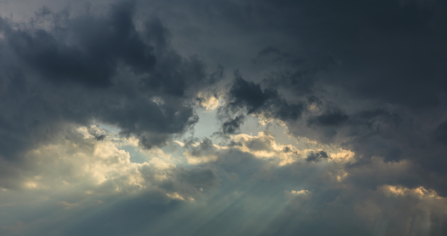 Blue sky and clouds natural background,sky and clouds with the sun. | Shutterstock HD Video #1031095040