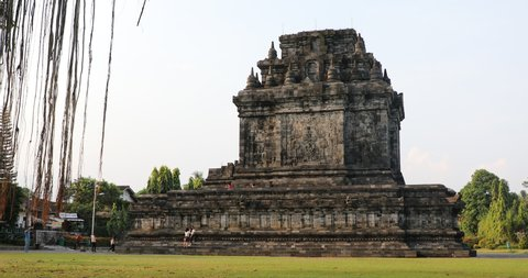 A Buddhist Mendut Temple in Central Java Indonesia