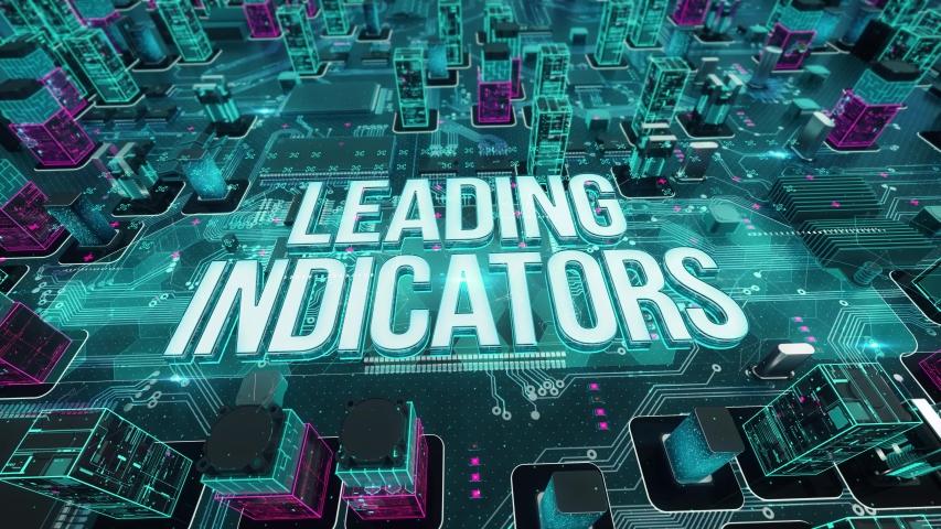 Leading Indicators digital technology hi-tech concept | Shutterstock HD Video #1031163872