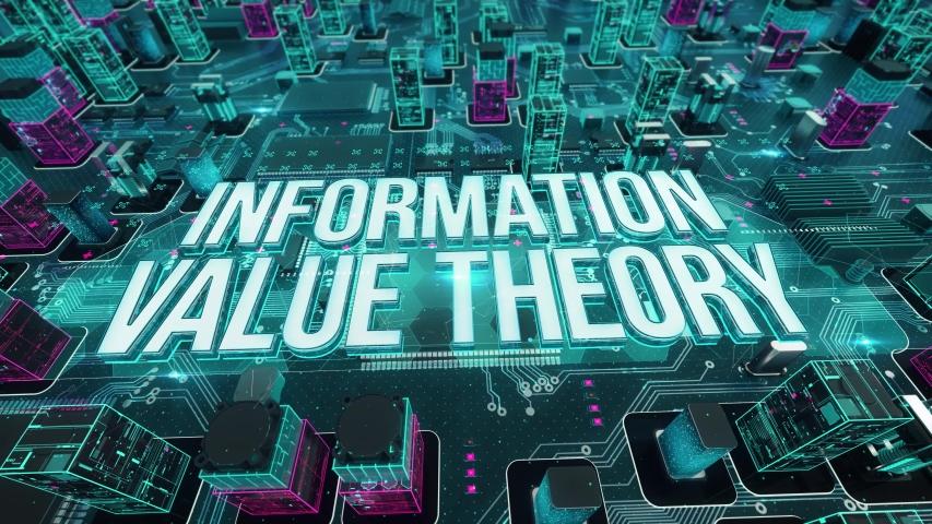 Information Value Theory digital technology hi-tech concept | Shutterstock HD Video #1031163974