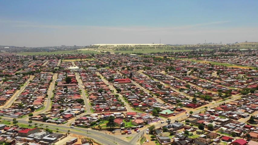 Aerial View Over Soweto Township Stock Footage Video (100% Royalty-free)  1031285330 | Shutterstock