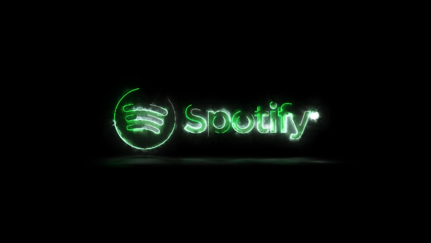Editorial Animation Spotify Music Streaming