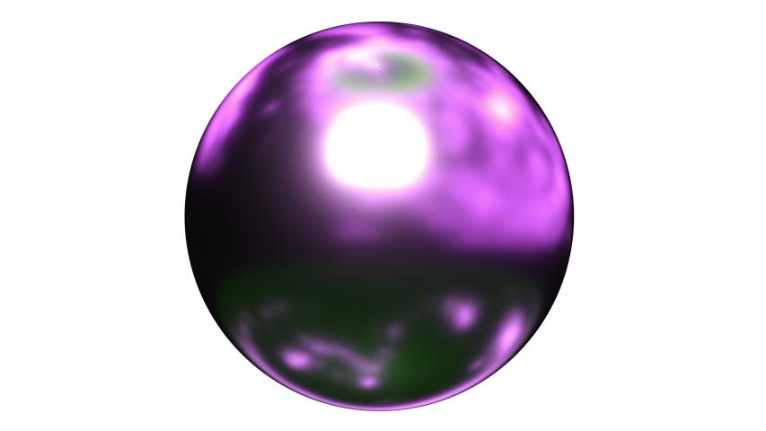 Abstract 3d liquid computer render purple material. 4k seamless looping footage.  | Shutterstock HD Video #1031441393