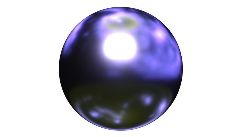 Abstract 3d liquid computer render purple material. 4k seamless looping footage.  | Shutterstock HD Video #1031441396