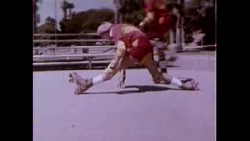 CIRCA 1980s - A safety film about roller skating in the 1980's.