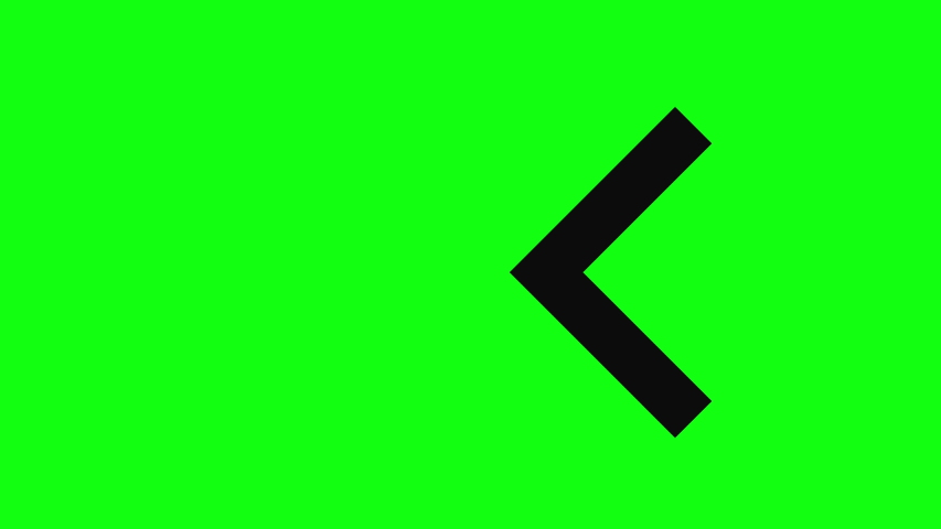 Green screen signal arrow signal left signal green screen ad arrow ad left ad green screen chroma key arrow chroma key left chroma key green screen animation arrow animation left animation symbol | Shutterstock HD Video #1031476403