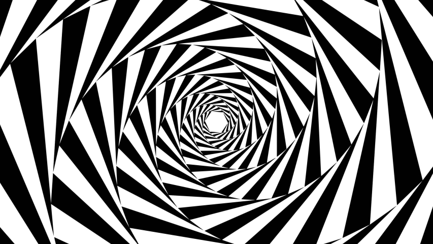 Optical black white illusion black and white hipnotic black and white optical spiral illusion spiral hipnotic tunnel optical background illusion background hipnotic psychedelic optical animation 3d