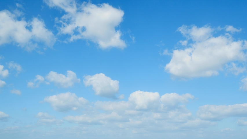The clear sky with a cloud | Shutterstock HD Video #1031492843