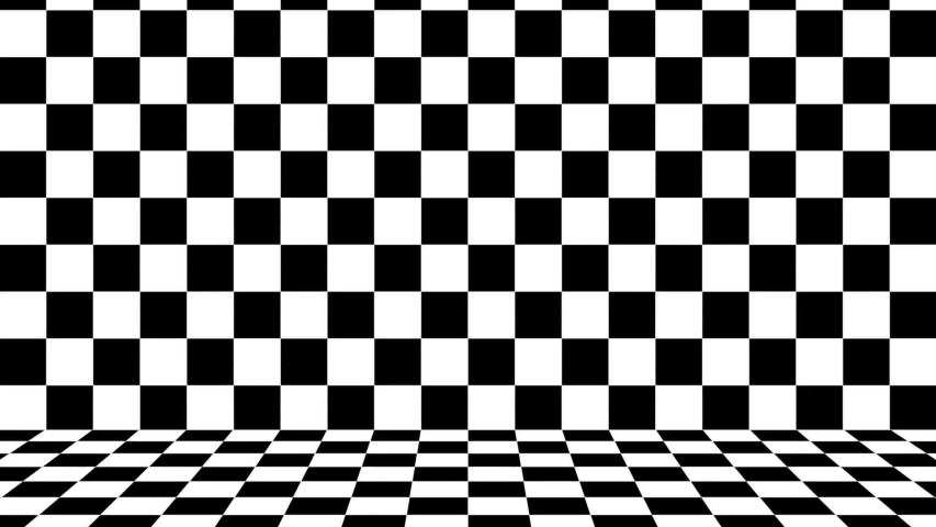 Checkered Pattern Background, Black and Stock Footage ...