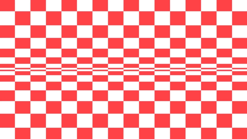 Checkered pattern background, red and white. | Shutterstock HD Video #1031645255
