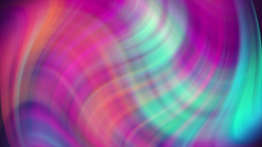 4k Digital Animation. Colorful Twisted Gradient Background. Fluid Gradients Motion. Colorful Blurred Line. Abstract Futuristic Design. | Shutterstock HD Video #1031657570