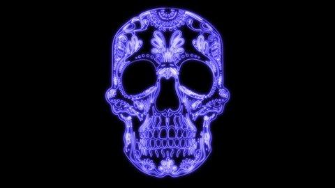 Screaming Flaming Skull Tee Men/'s Image by Shutterstock