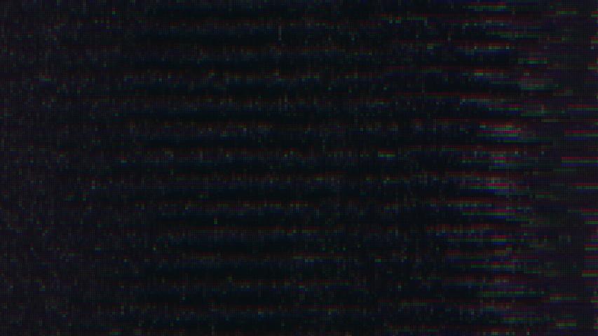 Unique Design Abstract Digital Animation Pixel Noise Glitch Error Video Damage | Shutterstock HD Video #1031805176