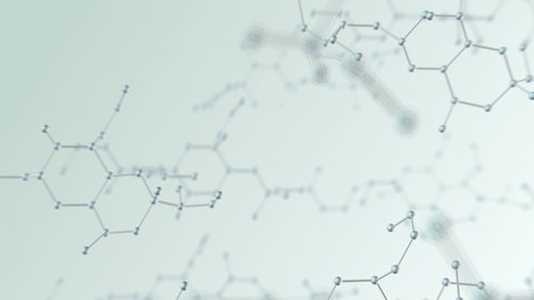 Molecular structure images abstract background.