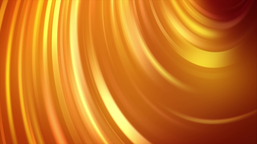 Light Golden and Yellow Bent Lines. Colorful geometric sample with gradient lines. The best colorful design | Shutterstock HD Video #1031961989