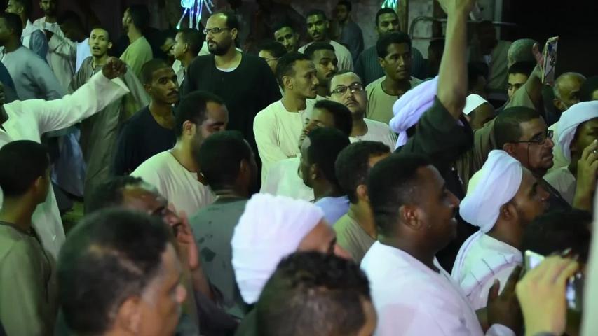 A celebration of the Sufi Muslims - location aswan - egypt   23/6/2018 | Shutterstock HD Video #1032081956