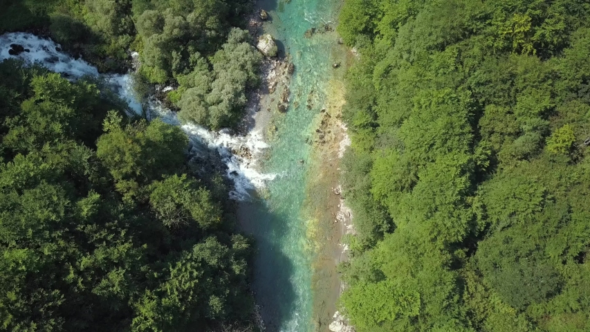 The place where the river Ljutica collides with river Tara. Tara canyon, rafting #1032115703