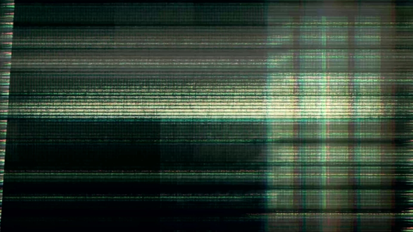 Glitch noise static television VFX. Visual video effects stripes background, tv screen noise glitch effect. Video background, transition effect for video editing, intro and logo reveals with sound. | Shutterstock HD Video #1032210941