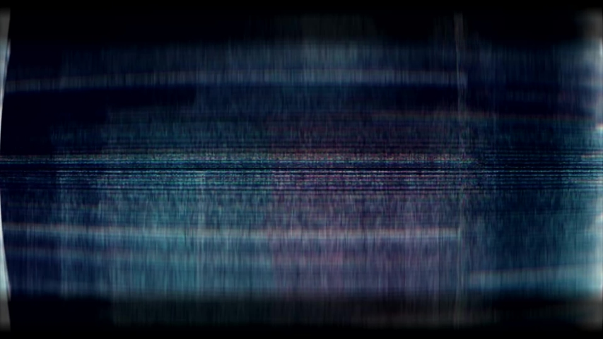 Glitch noise static television VFX. Visual video effects stripes background, tv screen noise glitch effect. Video background, transition effect for video editing, intro and logo reveals with sound. Royalty-Free Stock Footage #1032210956