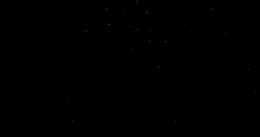 Flying dust particles on a black background | Shutterstock HD Video #1032621059