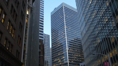 SAN FRANCISCO, SEPTEMBER 2014: First Market Tower in downtown San Francisco in the afternoon, California