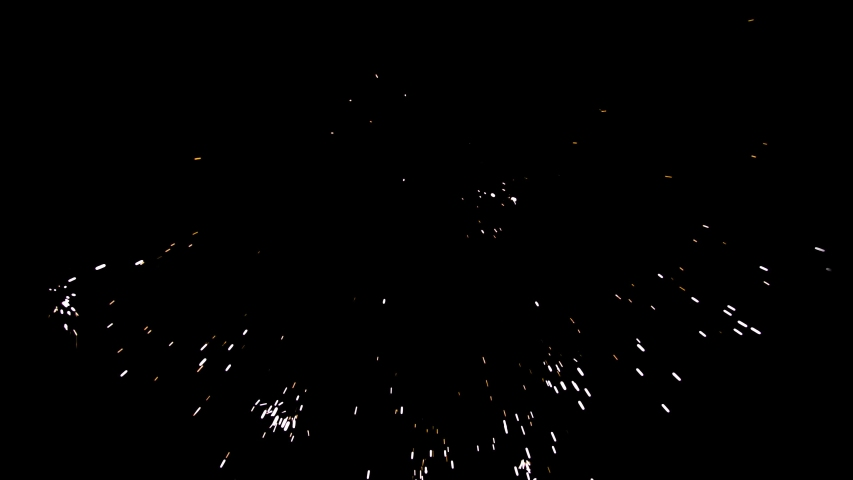 4K Sparks hits on Black Background, Sparks Over Black (ULTRA HD, UHD, 4K). Spark Wall created by Gun Powder Sparks Falling. Slow Motion. Sparks On Black (ADD MODE)