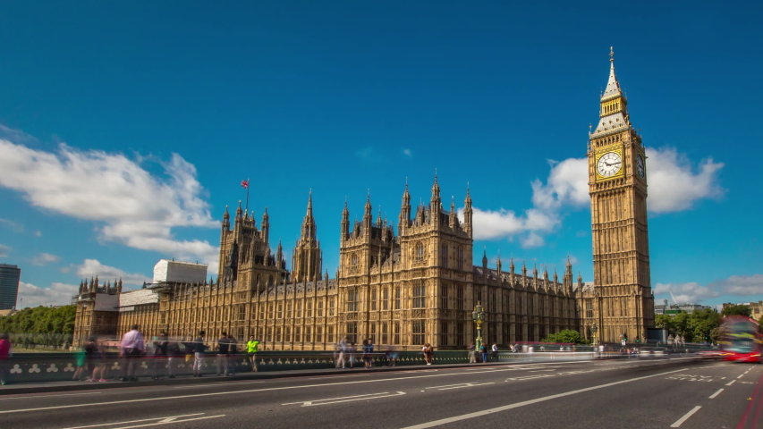 Big Ben Hyperlapse London Day