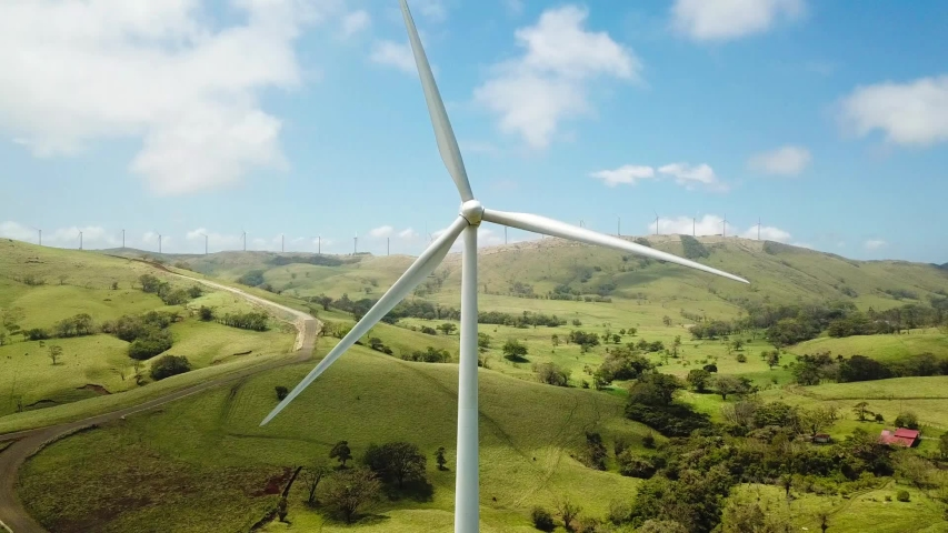 Power Generating Windmills, Costa Rica | Shutterstock HD Video #1033154285