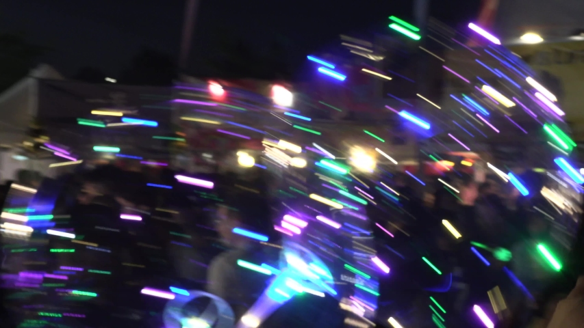 Markham, Ontario, Canada July 12, 2019 Massive Asian night market crowded with thousands of people on hot summer night | Shutterstock HD Video #1033177175