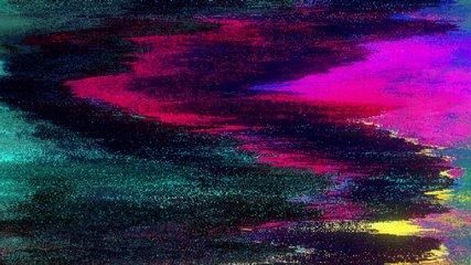Unique Design Abstract Digital Animation Pixel Noise Glitch Error Video Damage