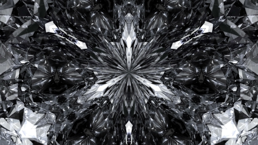 4K Realistic diamond close up texture, Background of jewelry gemstone