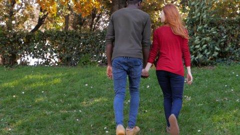 Teenagers Girlfriend Holding Hands Walking Stock Footage Video (100%  Royalty-free) 1035961157 | Shutterstock
