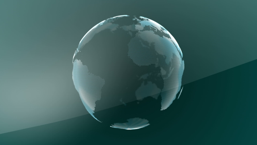 3D BIGDATA Visible Earth Blue Marble Digital Clouds Earth rotating animation social future technology abstract atmosphere scientific growth network surrounding planet earth rotating Digital globe loop Royalty-Free Stock Footage #1033698002