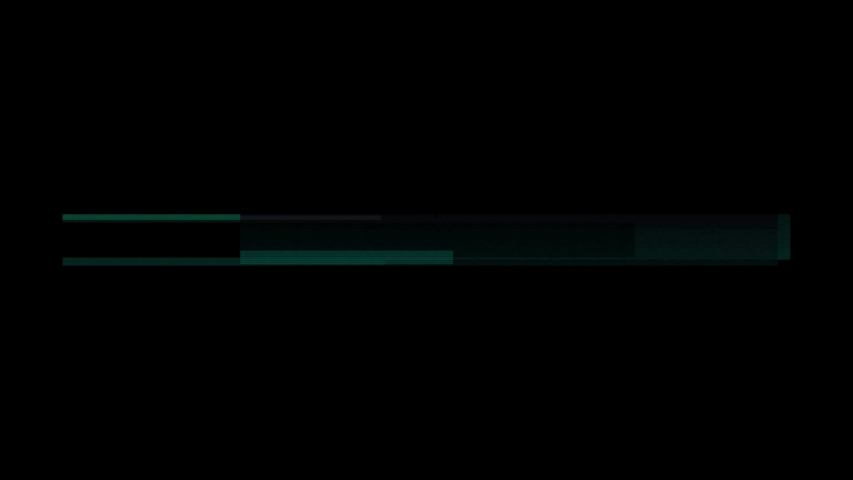VHS real defects noise and artifacts, glitches from an old tape, black screen.More elements in our portfolio | Shutterstock HD Video #1033781792