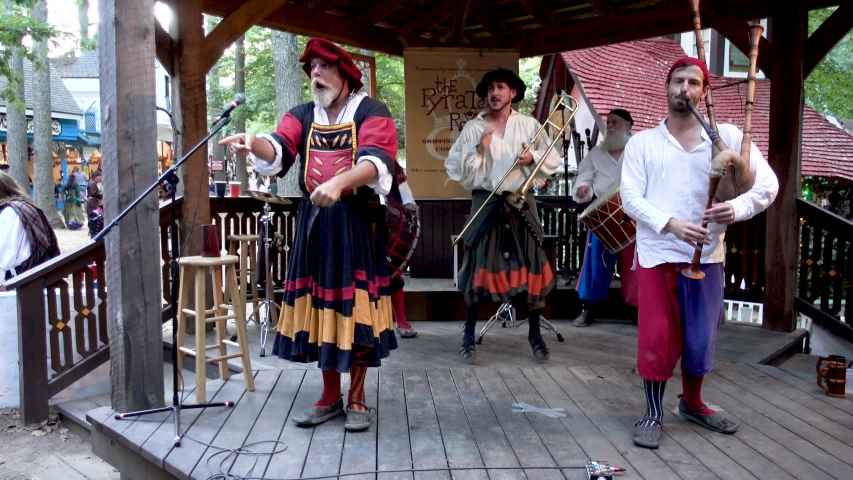 Annapolis , Maryland / United States - 09 25 2016: A Renaissance fair, Renaissance faire or Renaissance festival is an outdoor weekend gathering, usually held in the United States, open to the public