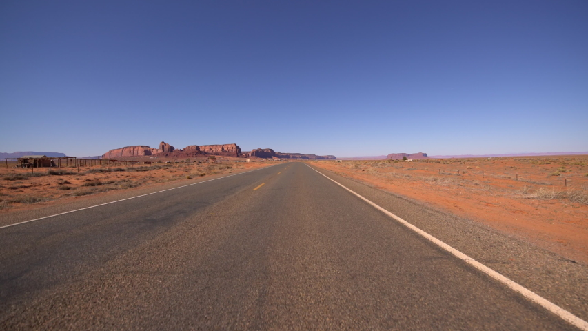 Monument Valley Driving Template Southwest USA 12