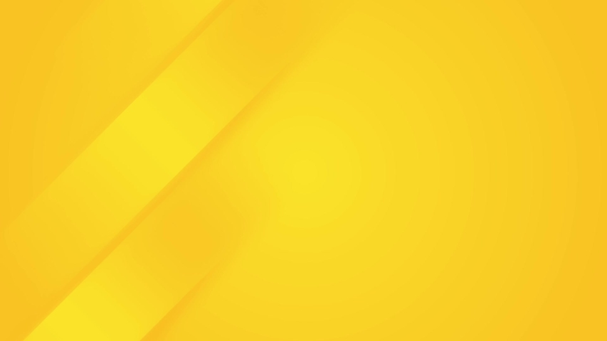 Light sunny yellow looped gradient abstract background. Minimal animation for presentation, event, party text backdrop. Halloween sale. Endless pure transition. Random moving geometric arrow up lines