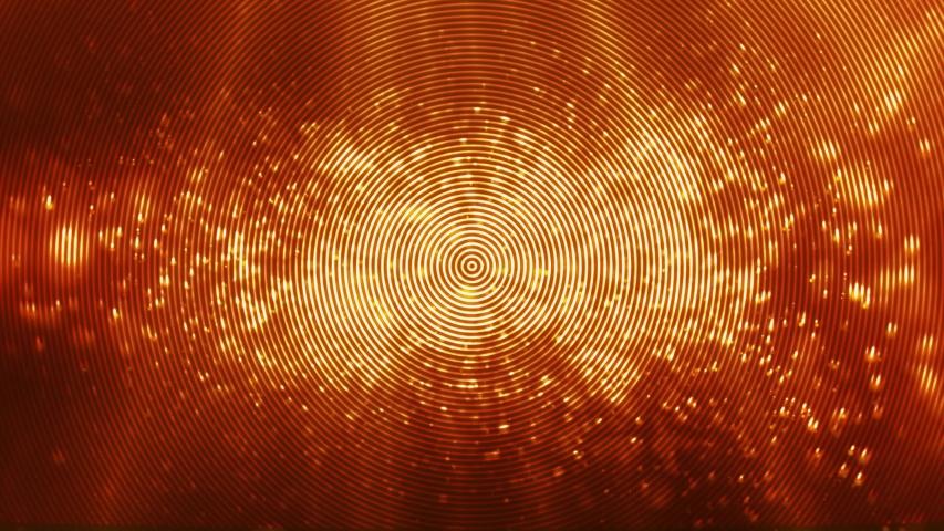 Creative golden glitters, particles background. shiny orange dust design animation.  | Shutterstock HD Video #1034630927
