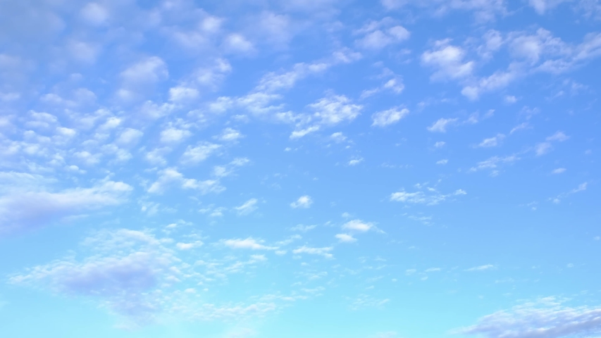 4K Time lapse, beautiful sky with clouds background, Sky with clouds weather nature cloud blue, Blue sky with clouds and sun, Clouds At Sunrise. | Shutterstock HD Video #1034660294