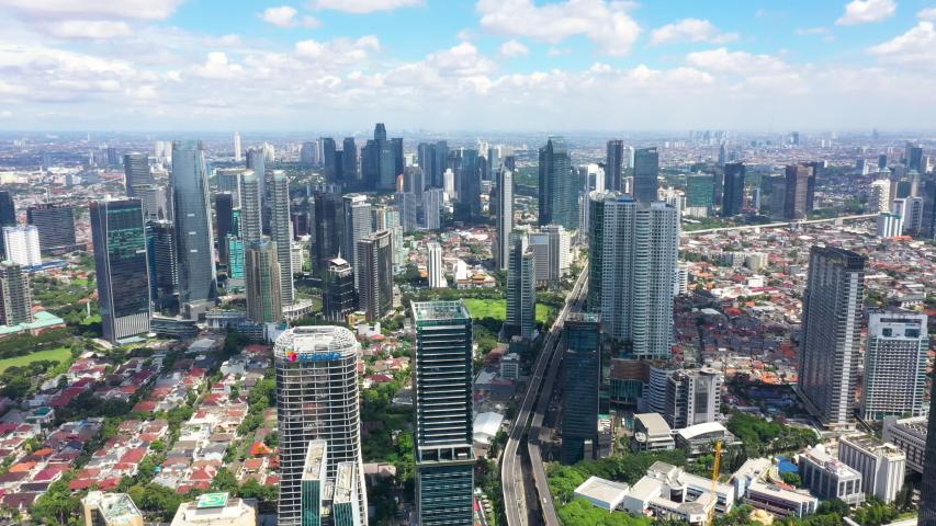 Kota Jakarta Selatan Jakarta Stock Footage Video 100 Royalty Free 1034713079 Shutterstock
