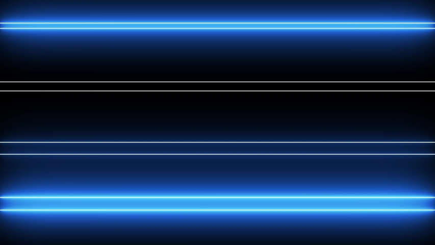 Creative neon bars rendering. Colorful led lines lightning.  | Shutterstock HD Video #1034868182