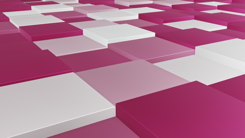 Square pattern hopping, 4k background, cg animation stock loop video,  | Shutterstock HD Video #1034938631