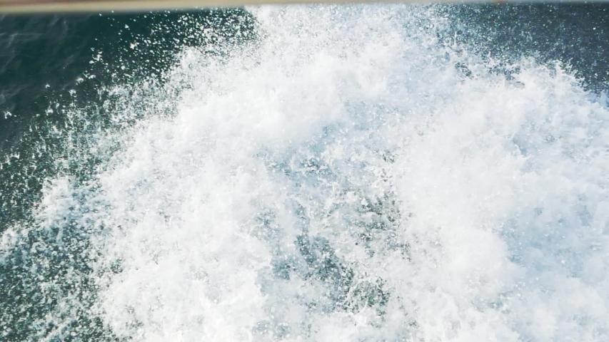 Waves Crashing Ocean Sea Wave   Shutterstock HD Video #1034940761